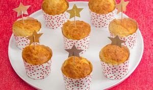 Muffins salés au parmesan