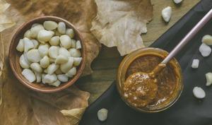 Praliné aux noix de macadamia