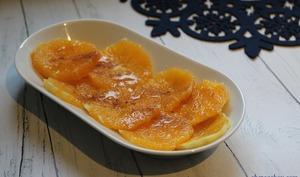 Salade d'oranges à la cannelle et sirop d'érable