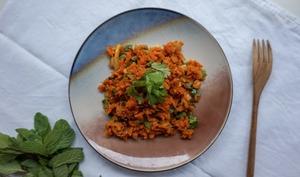 Zaalouk savoureux de carottes