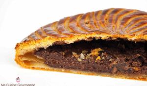 Galette des rois amande chocolat