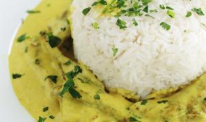 Steak de boeuf au curry