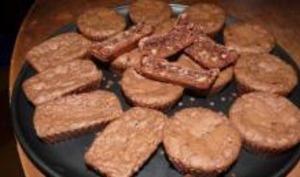 Brownies Chocolat, Noix et Amandes