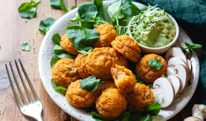 Croquettes de patate douce au quinoa