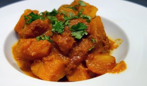 Curry de butternut