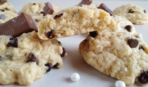 Cookies à l'épeautre et aux pépites de chocolat