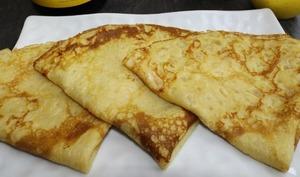 Crêpes bretonnes au cidre et au miel