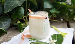 Yaourts à la fleur d'oranger sans yaourtière