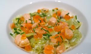 Ravioles aux 3 saumons
