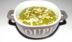 Soupe aux poireaux et tapioca