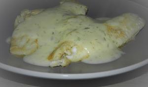 Filets de cabillaud sauce à l'aneth