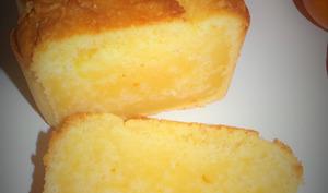 Cake aux jaunes d'œufs et aux clémentines