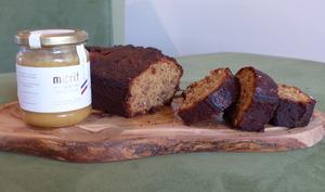 Cake aux noix et au miel