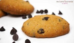Cookies noix de cajou et chocolat