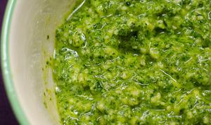 Pesto de chou kale aux noix de cajou