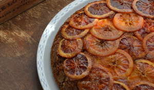 Gâteau orange sanguine et polenta