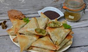 Samossas indiens aux épices