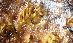 Moelleux aux rosaces de pommes AOP du Limousin