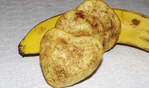 Biscuits aux bananes et à la cassonade
