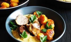 Curry de joues de cochon