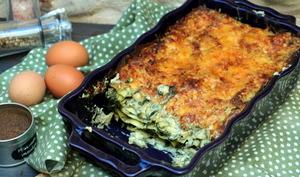 Lasagnes aux épinards et à la feta de Cyril Lignac