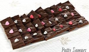 Brownie brittle au chocolat