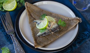 Galettes sarrasin sardines