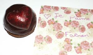 Dômes bavaroises poire et chocolat
