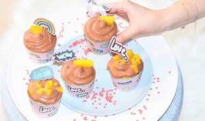 Pop cupcakes mangue chocollat