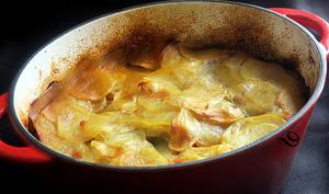 Mijoté de pommes de terre aux trois viandes