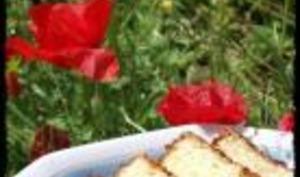 Cake au Citron, Gingembre et Sirop de Pamplemousse