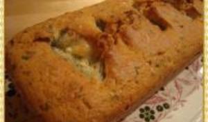Cake au Fromage de Chèvre et Coulis de Ciboulette