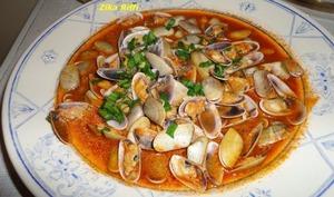 Haricots de mer à la sauce tomate