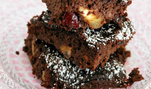 Gâteau à l'okara et chocolat noir