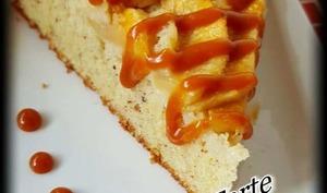 Mi gâteau, mi tarte, fondant aux pommes