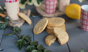 Sablés à la bergamote et huile d'olive