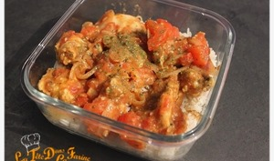 Tajine de poulet version Tupperware