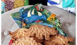 Sablés au beurre dinosaures