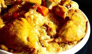 Mon couscous au poulet