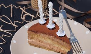 Tiramisu praliné version gâteau