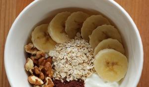 Bol d'énergie pour petit-déjeuner