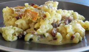 """Pâtes aux fromage """"Rougette"""""""