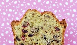 Cake canneberges et noix