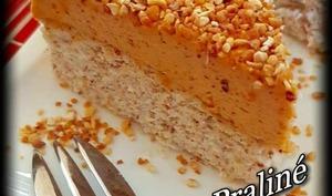 Gâteau nuage praliné