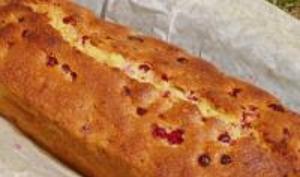 Cake aux groseilles rouges