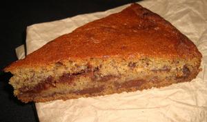 Gâteau chocolat banane au rhum