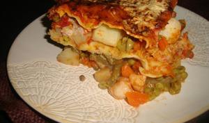 Lasagnes indiennes aux légumes Korma
