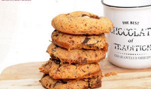 Cookies cœur caramel