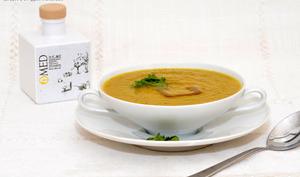 Soupe au fenouil et au yuzu