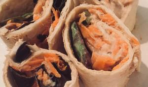 Tortilla mexicaine au maquereau